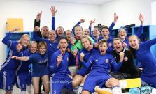 Futbalistky Partizána Bardejov získali ligový titul a zahrali si Ligu majstrov