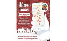 Mesto Prešov spúšťa Mapu Vianoc