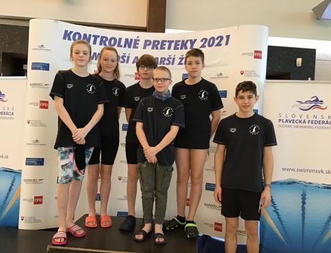Plavci z prešovských klubov opäť úspešní, darilo sa aj Bardejovčanovi F. Bernárovi