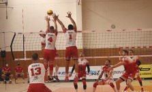 Prešovskí volejbalisti v prvom zápase semifinále podľahli Komárnu