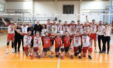 Prešovskí volejbalisti bronzoví
