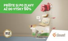 Využite zľavy na internet a TV, v Slovanete teraz až do 50 %