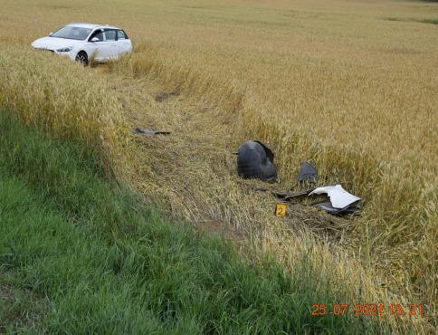 Vodič z Bardejova po nehode zaspal vo vozidle