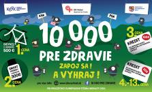 VIDEO   10 000 pre zdravie